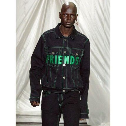 VLONE Street Style Denim Jacket