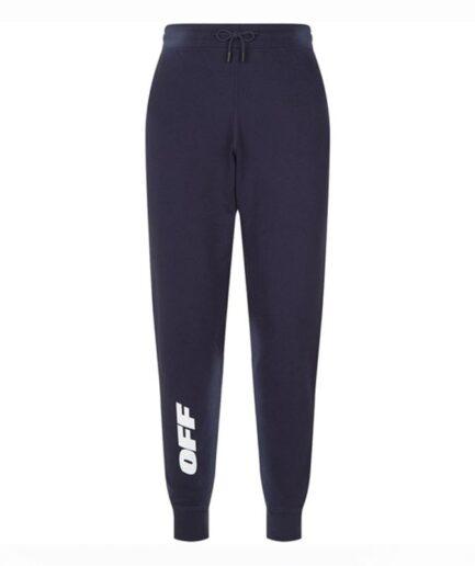 Vlone OFF Logo Gray Jogger Sweatpants