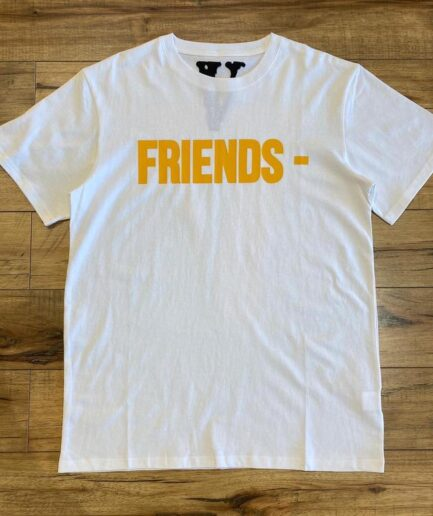 Vlone Friends Staple White Tee Front side