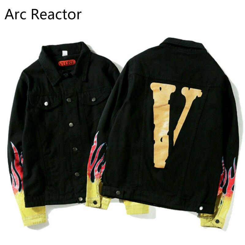 VLONE bomber high quality Hip Hop Jacket