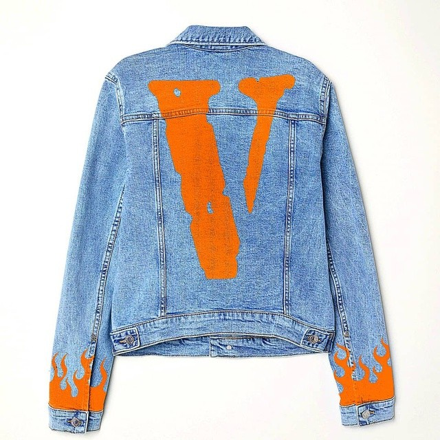 VLONE Custom Denim Jacket (Copy)