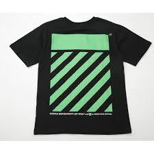 VLONE Stripe T-Shirt (Black)