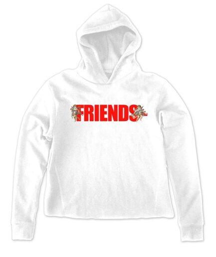 Vlone Best Friends Unisex White Hoodie