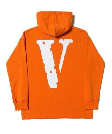 Vlone Staple Friends Orange Hoodie