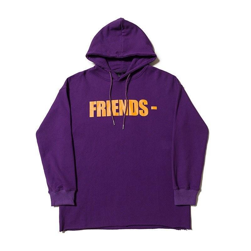 Vlone Friends Staple Purple Hoodie