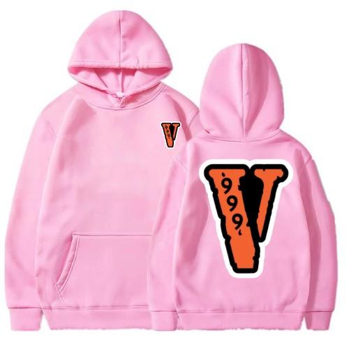 Juice Wrld x Vlone 999 Pink Hoodie
