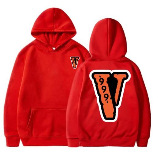 Juice Wrld x Vlone 999 red Hoodie