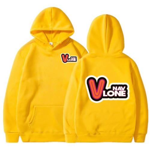 Vlone Nav Yellow Hoodie