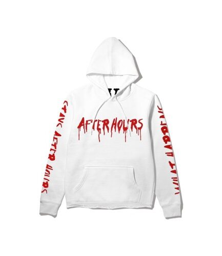 The-Weeknd-x-Vlone-After-Hours-Blood-Drip-Hoodie-White
