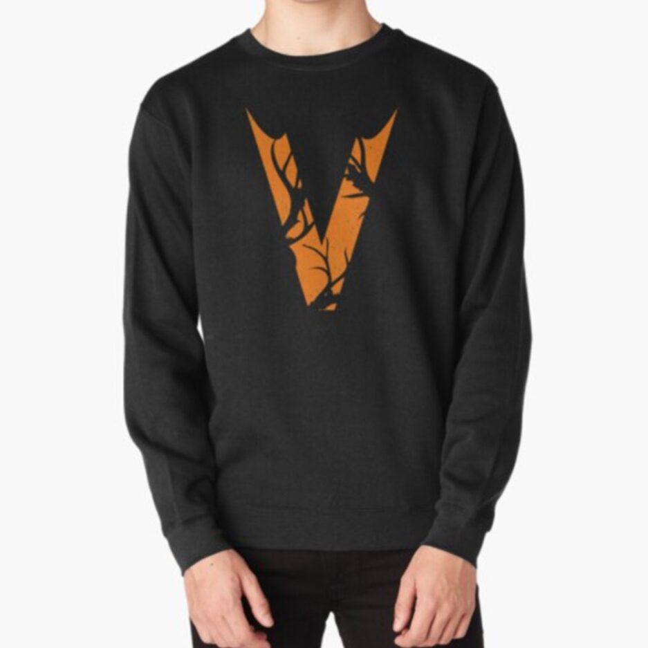 Vlone Crewneck Black Sweatshirt
