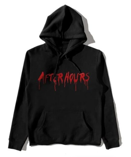 Vlone X The Weeknd After Hours Blood Drip Hoodie