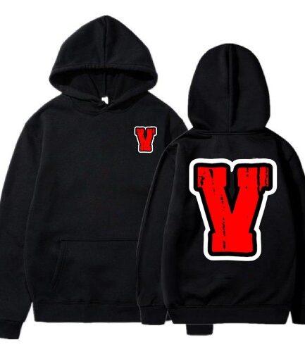 Vlone-Black-Reversible-Hoodie-Red-V.