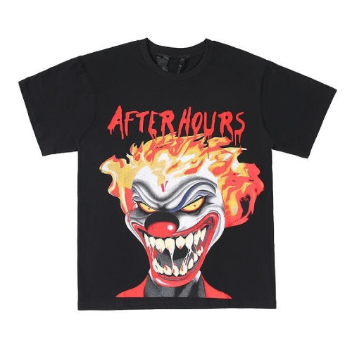 Vlone-Weeknd-After-Hours-If-I-OD-Clown-Tee Black