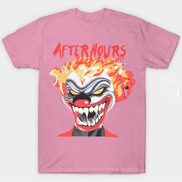 Vlone Weeknd After Hours If I OD Clown Tee