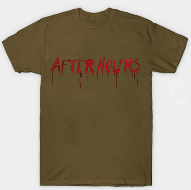 Vlone-x-The-Weeknd-After-Hours-Acid-Drip-T-Shirt-Brown.