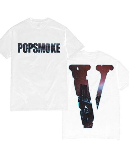 Vlone x Pop Smoke NY City T-Shirt