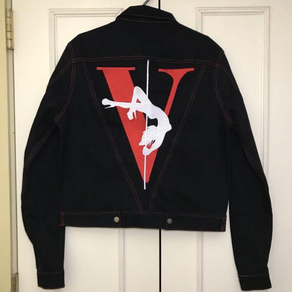 VLONE Stripper Denim Pop-up Exclusive Jacket
