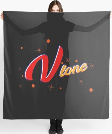 Vlone V Printed Scarf