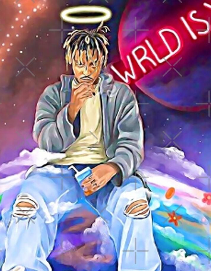 WRLD is Yours* Vlone x Juice WRLD Scarf