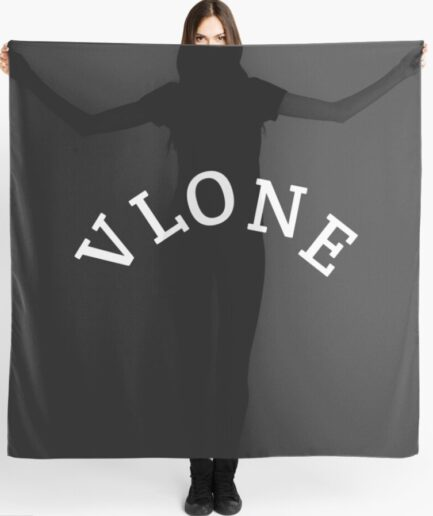 Vlone Printed High Quality Cotton Scarf