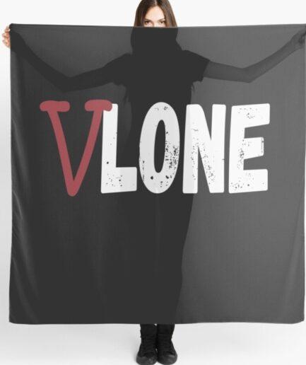 Vlone Staple Classic Black Scarf