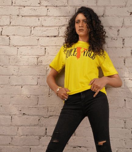 Juice Wrld X Vlone Yellow T-Shirt