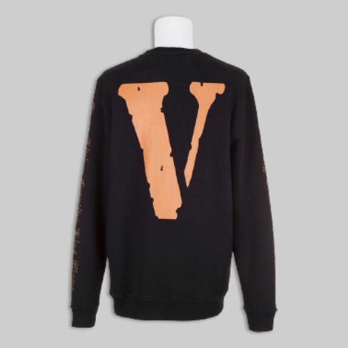 OFF-WHITE X Vlone Black Sweatshirt