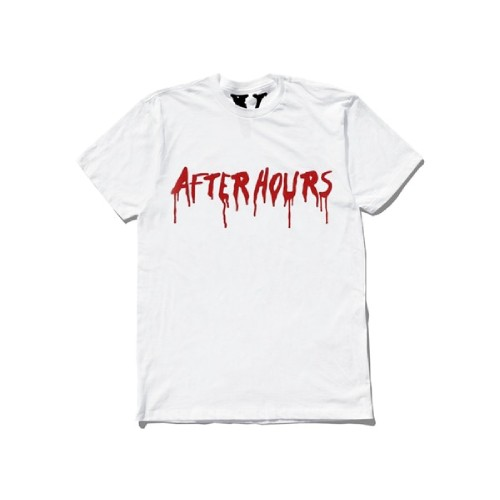 The Weeknd Vlone After Hours Blood Drip T-Shirt