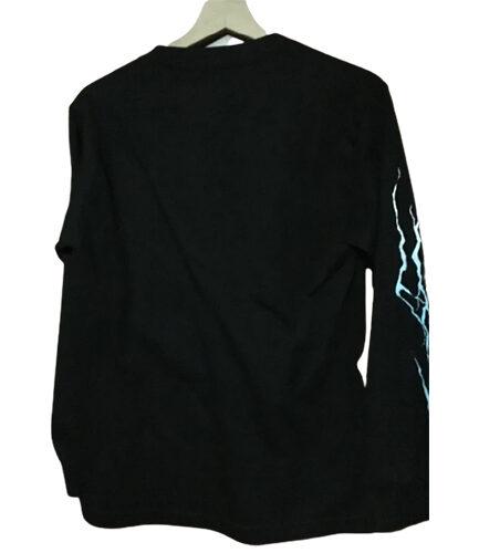 Vlone Lightning Long Sleeve in black color