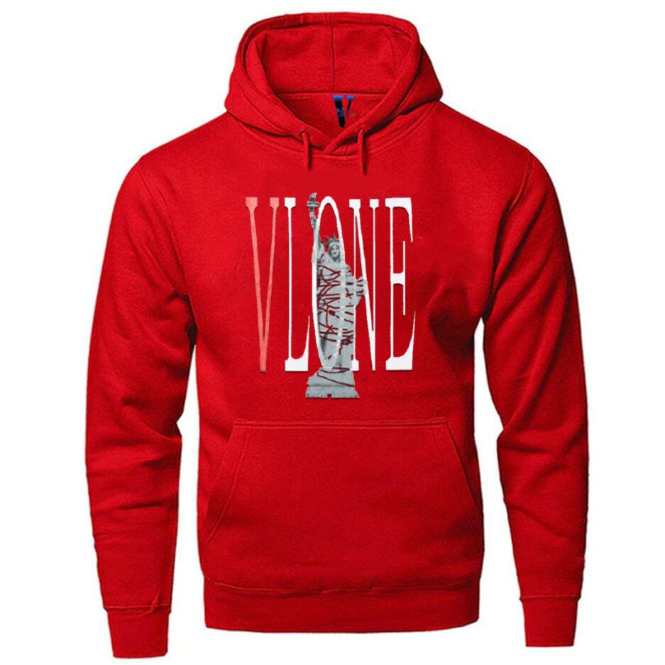 Vlone Statue Of Liberty Hip Hop Hoodie