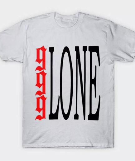 Juice Wrld X Vlone 999 Logo Tee - White (Front)