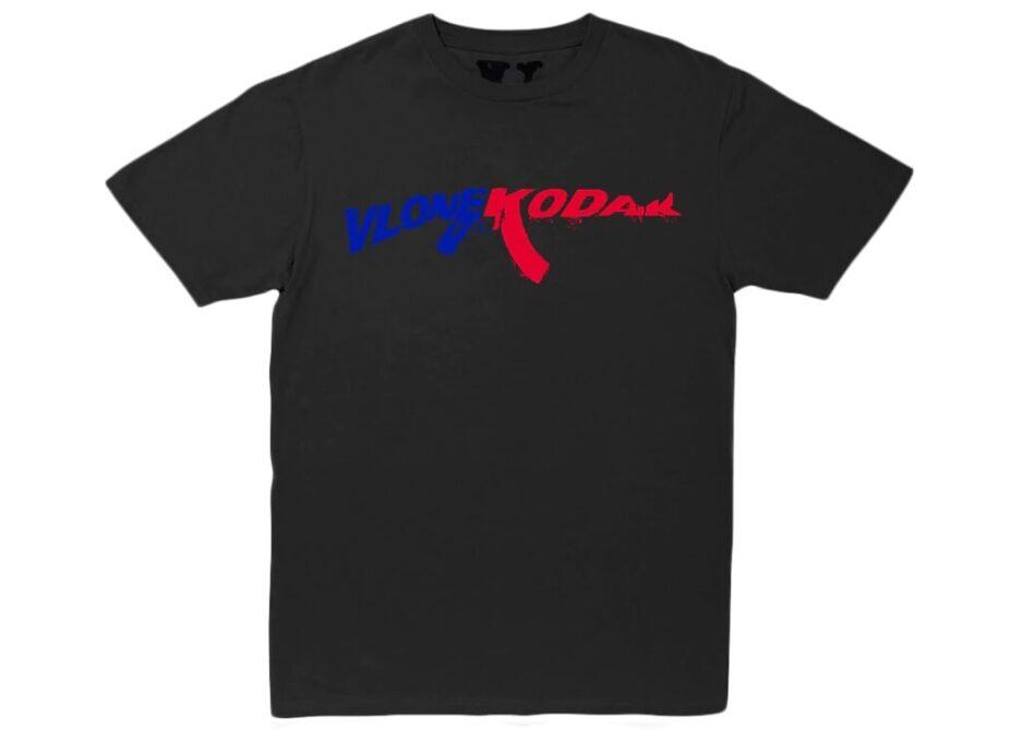 Kodak Black x Vlone 47 Black T-Shirt