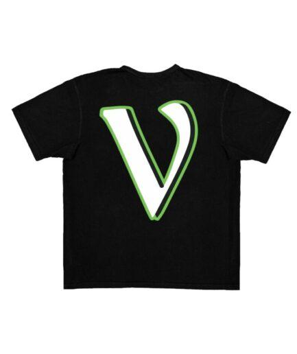 Vlone Support Tee Black V staple Vlone LLC