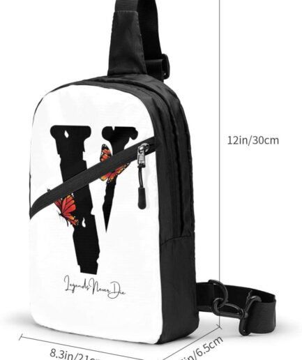 Vlone Butterfly Sports Fitness Backpack (2)