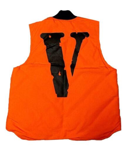 Vlone-Carhartt-Vest-Orange-Back