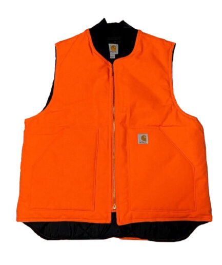 Vlone-Carhartt-Vest-Orange-Front