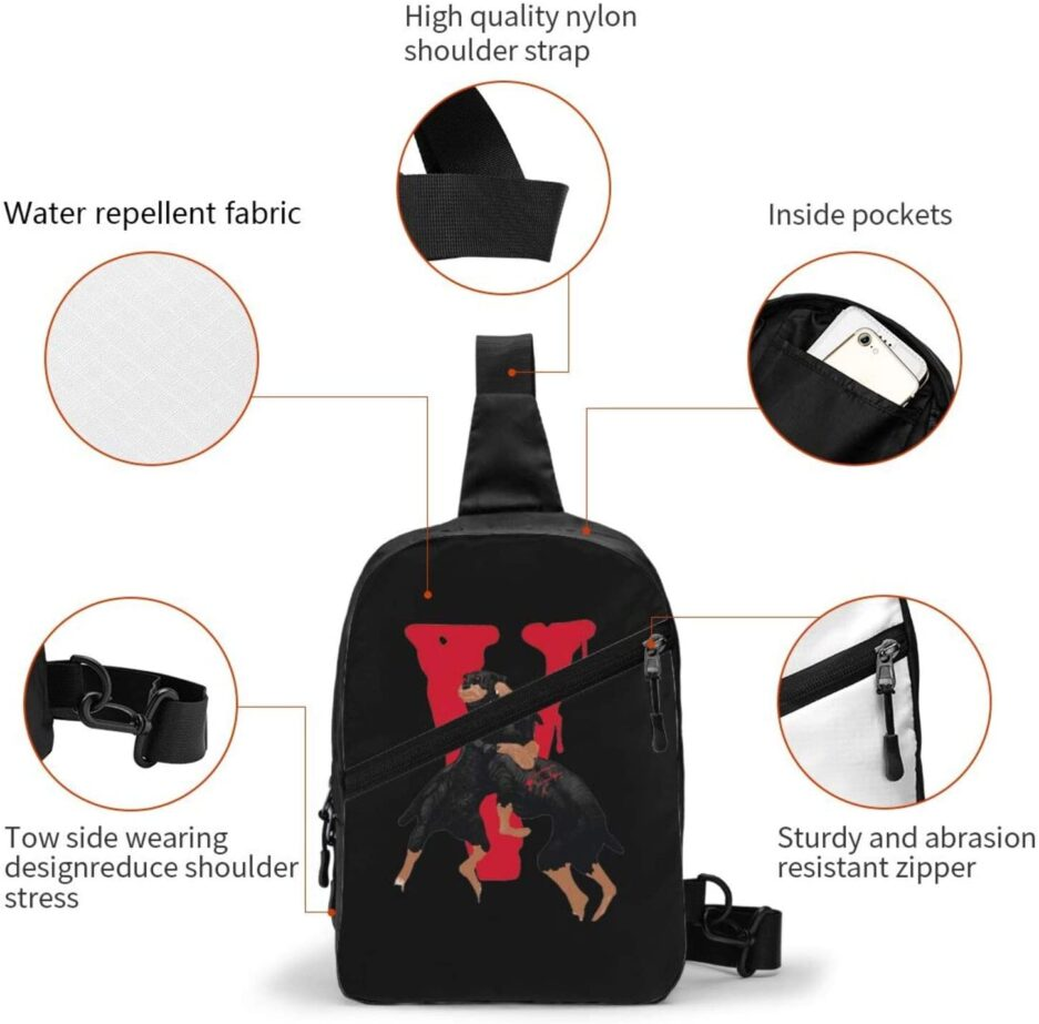 Vlone City Morgue Sports Fitness Backpack (2)