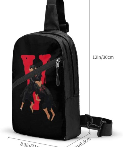 Vlone City Morgue Sports Fitness Backpack (4)
