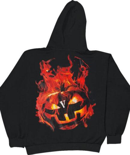 Vlone-Halloween-Flaming-Pumpkin-Hoodie-Black-Back-1024x1024