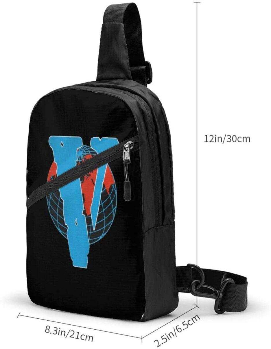 Vlone Red World Designed Sports Fitness Backpack (2)