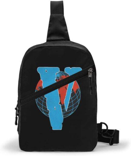 Vlone Red World Designed Sports Fitness Backpack