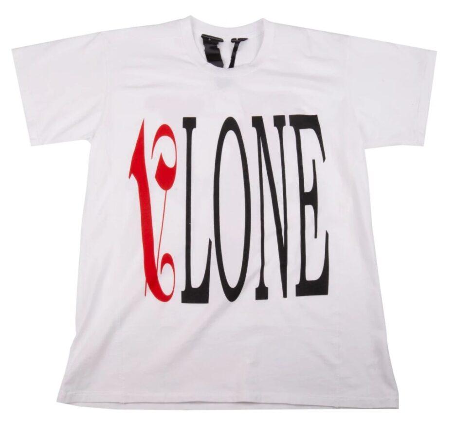 Vlone-X-Palm-Angels-Red-White-T-shirt