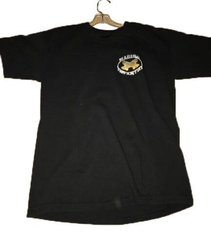 """Vlone """"Marino Infantry"""" diamond white tee shirt front"""