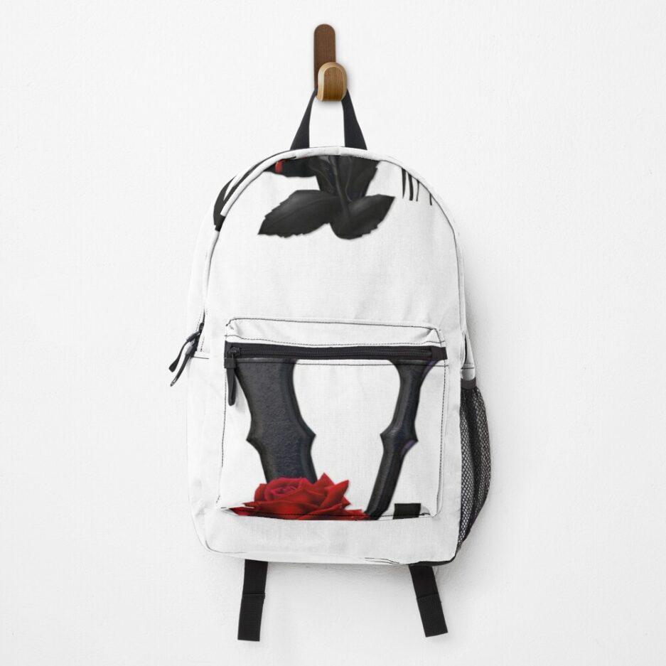 Vlone Red & Black Backpack