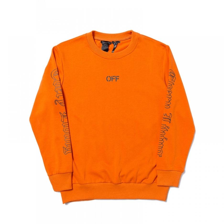 Vlone-x-OFF-WHITE-Sweatshirt-Orange-Front