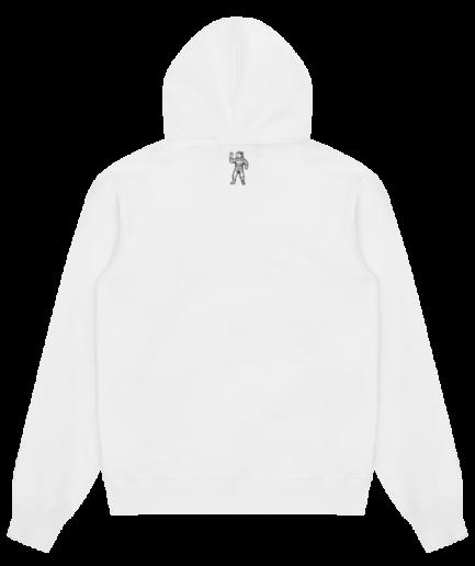 Billionaire Boys Club Magnetic Logo Hoodie - White