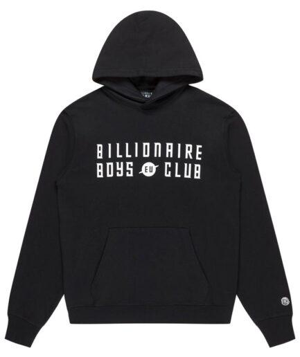 Billionaire Boys Club EU Logo P/O Hoodie - Black