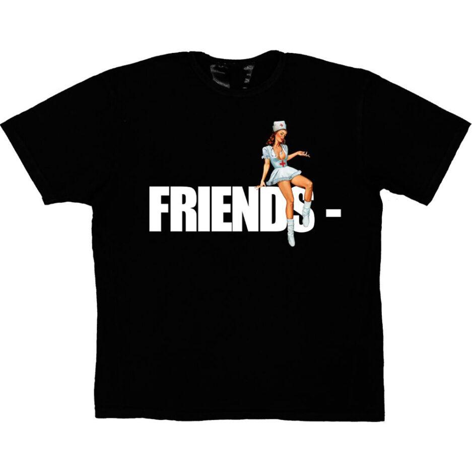 FRIENDS - Pin Up T-Shirt - Black
