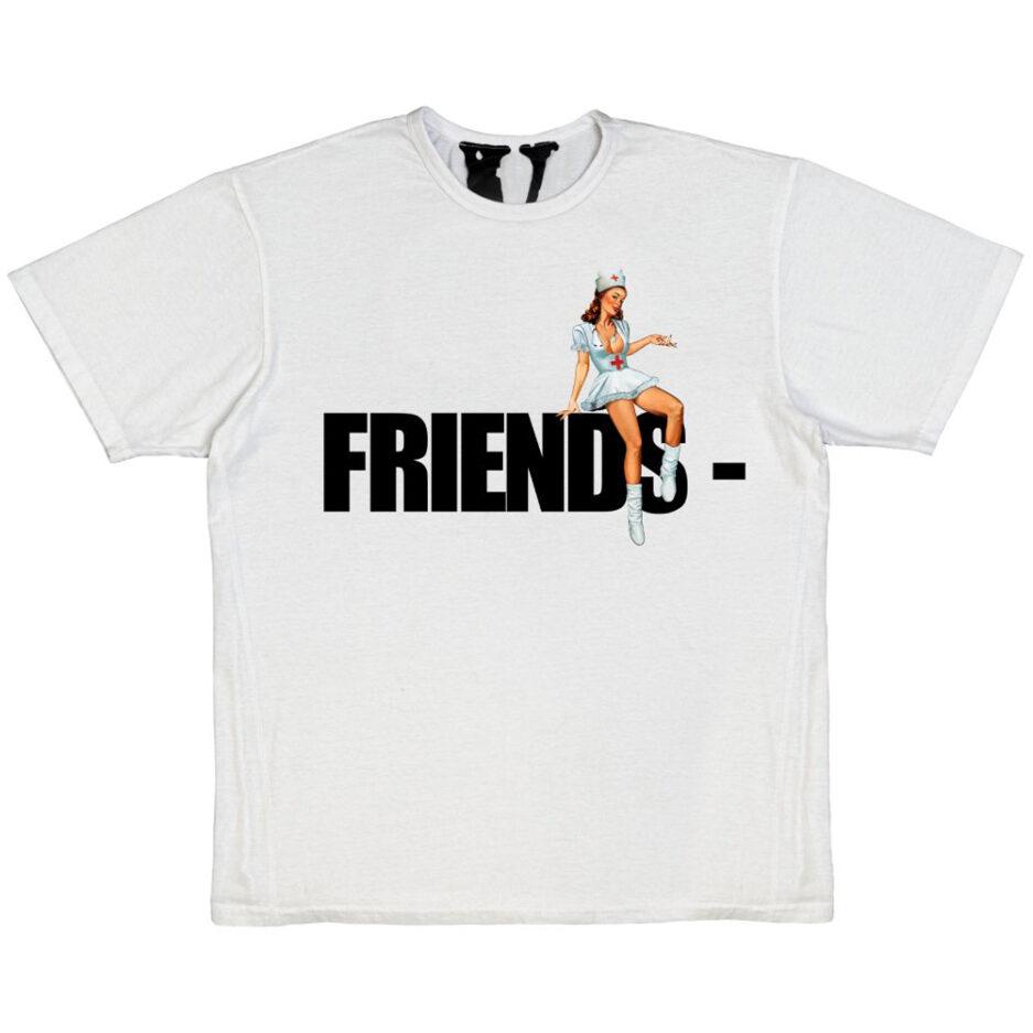 FRIENDS - Pin Up T-Shirt - White